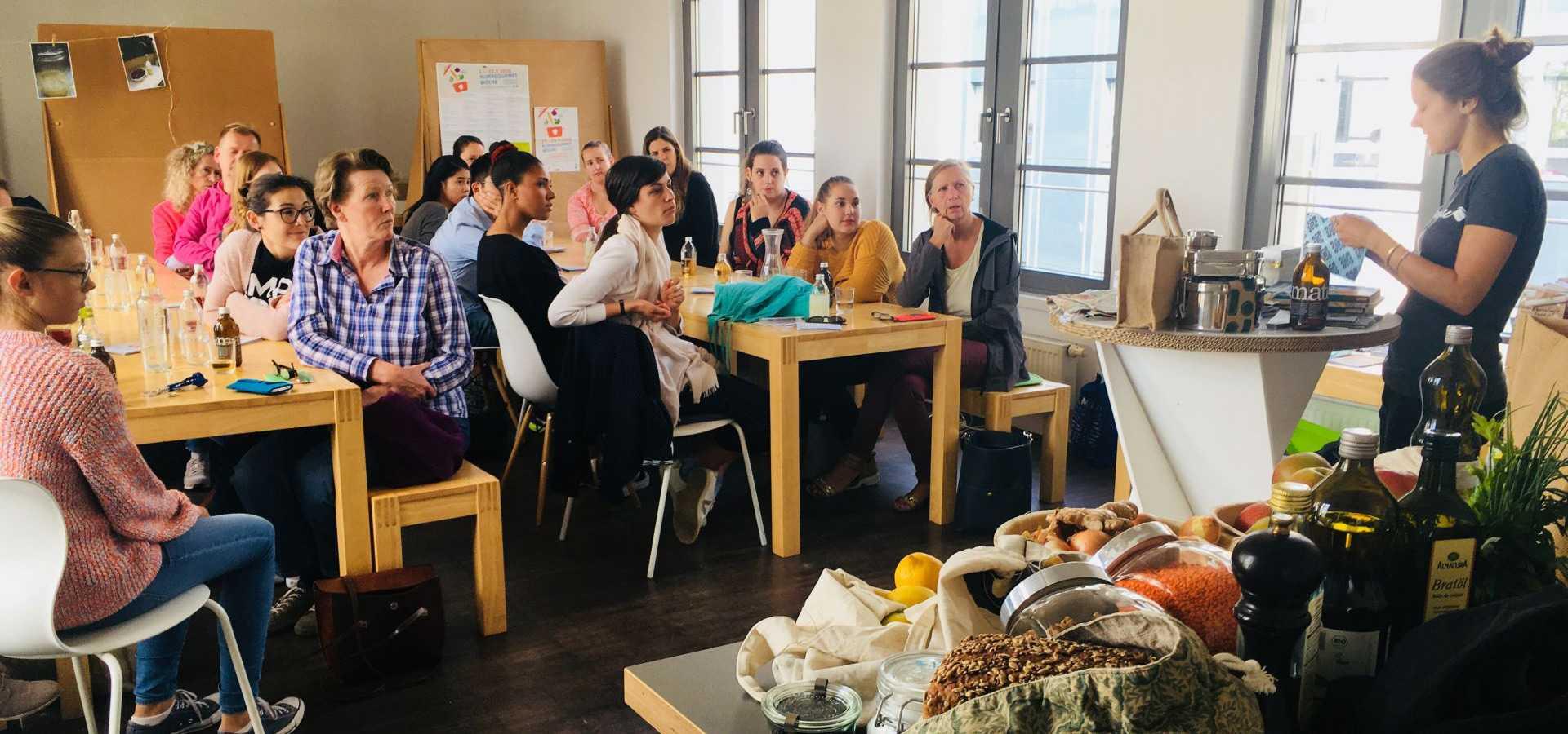Workshop Event Vortrag gramm.genau Zero Waste unverpackt Frankfurt