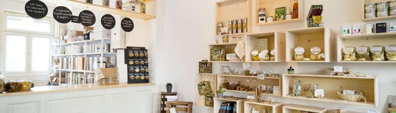 gramm.genau Laden unverpackt einkaufen in Bockenheim