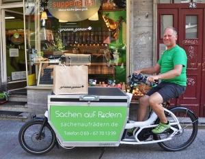 Zero Waste Frankfurt nutzt CO2-neutralen öko Lieferservice