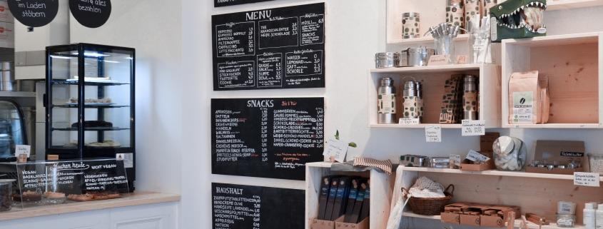 Café Laden Non-Food-Regal