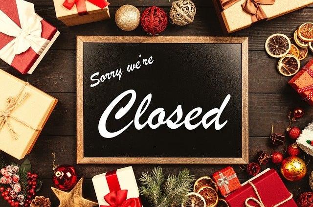 Weihnachten unverpackt geschlossen