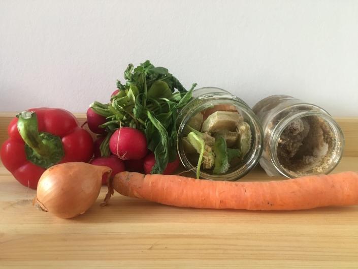 Gemüsereste