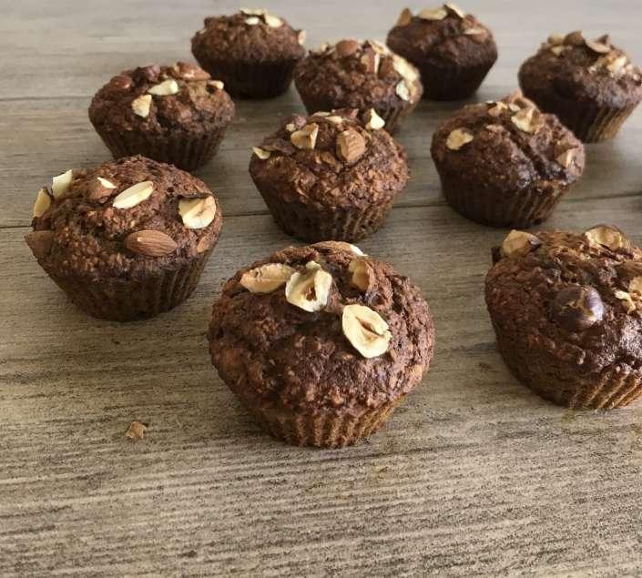 vegane bananen-muffins DIY gramm.genau frankfurt unverpackt einkaufen